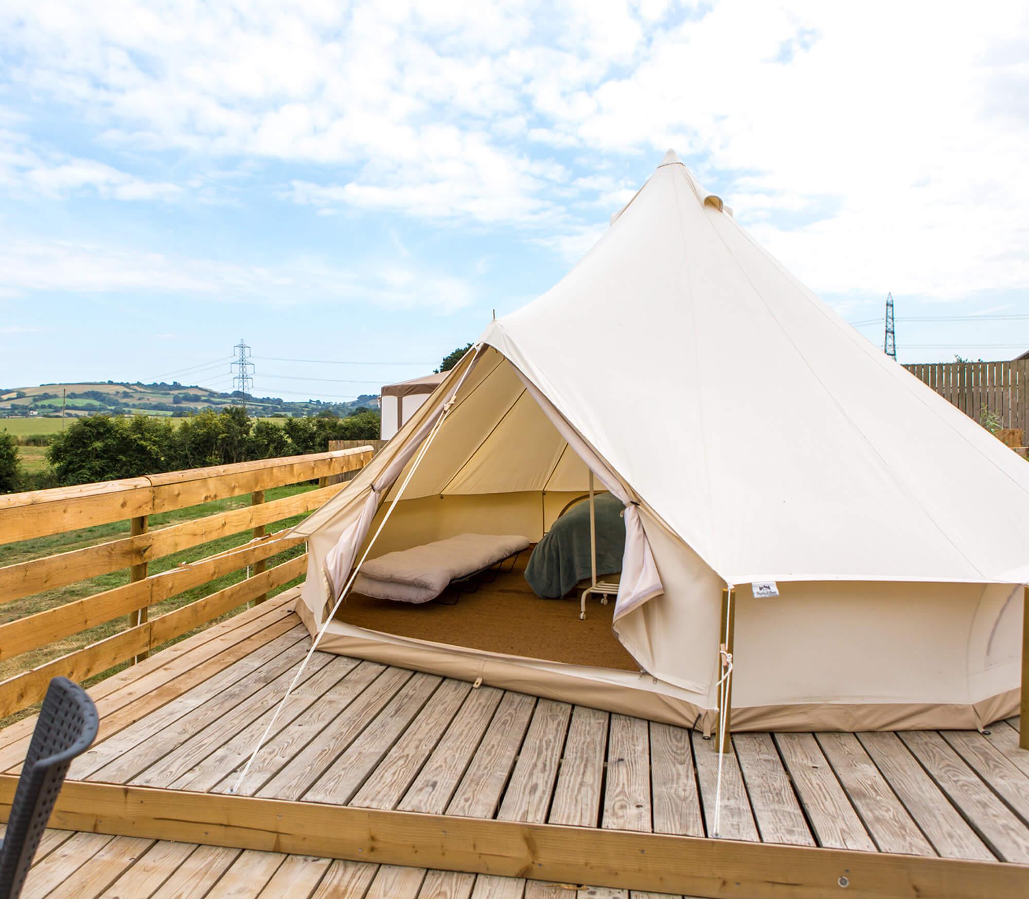 Rent-a-bell-tent