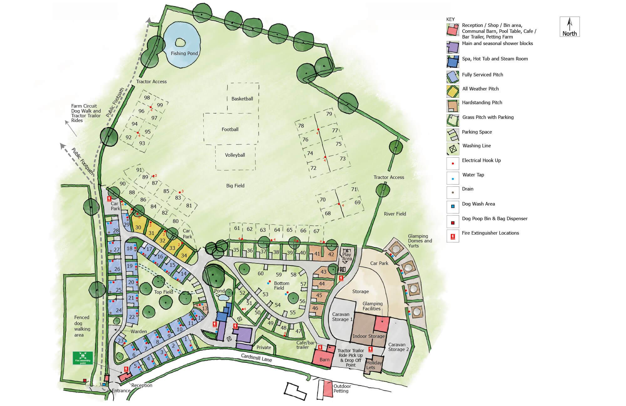 The-Dorset-Hideaway-site-map