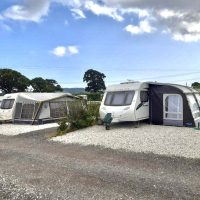 Seasonal pitches - caravan and awning