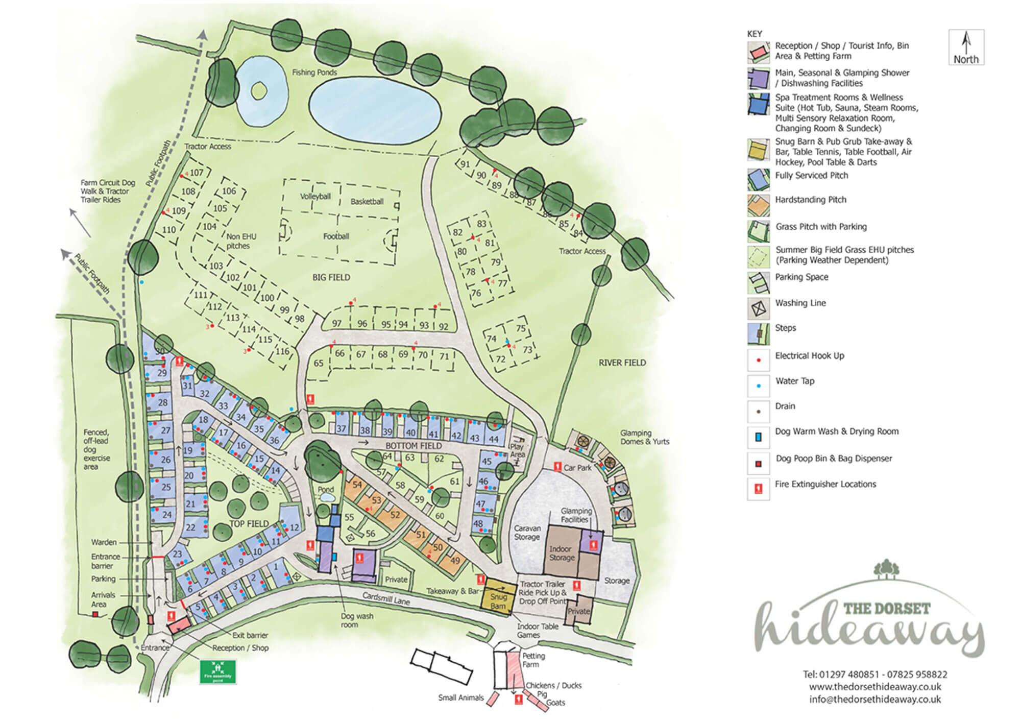 Dorset-Hideaway Site Plan